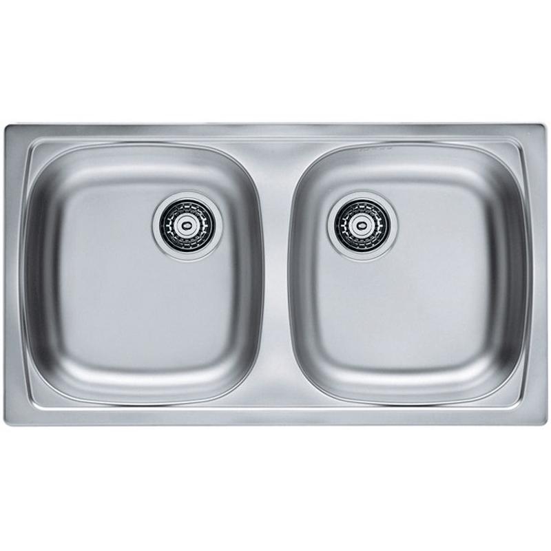Кухонная мойка Alveus Basic 160 1049232 Нержавеющая сталь кухонная мойка alveus basic 130 1008825 нержавеющая сталь