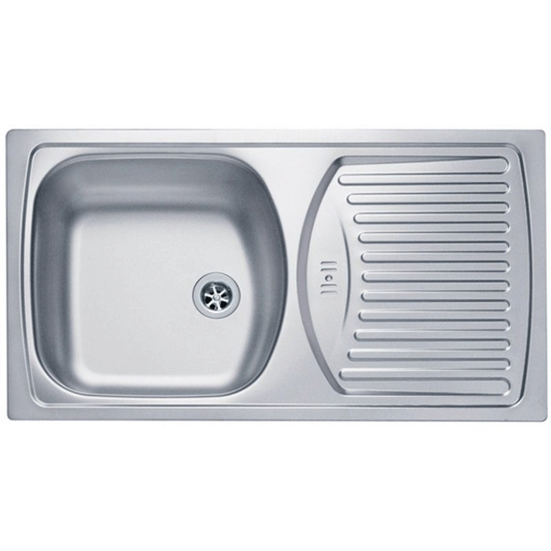 Кухонная мойка Alveus Basic 150 1136531 Нержавеющая сталь Декор кухонная мойка alveus basic 130 1008825 нержавеющая сталь