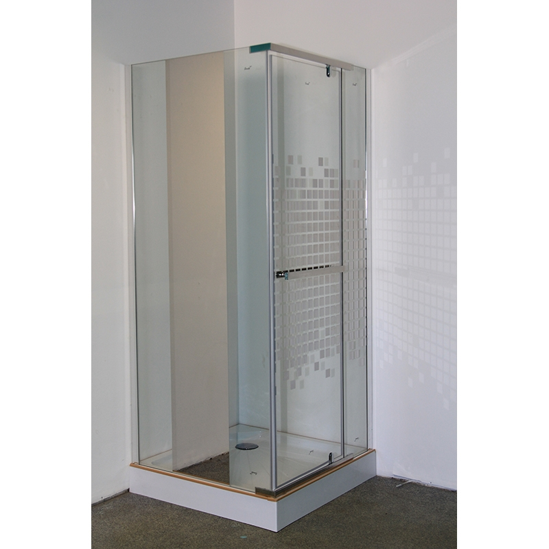 Фото - Душевой уголок Cerutti SPA Mimi ZQ91 90х90 профиль Хром стекло зеркальный рисунок душевая дверь cerutti spa bella d81t 80х195 хром