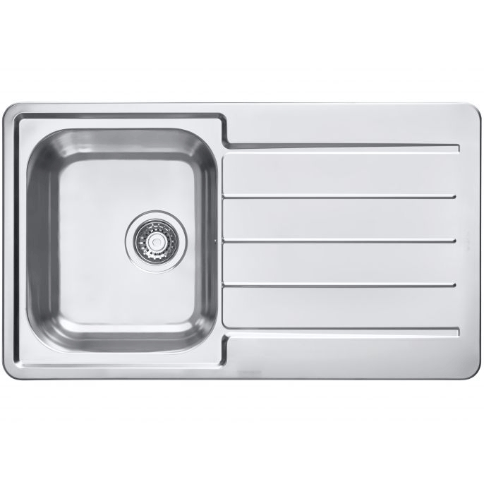 Кухонная мойка Alveus Line Maxim 86 1089611 Нержавеющая сталь тонометр b well med 55 m l адаптер