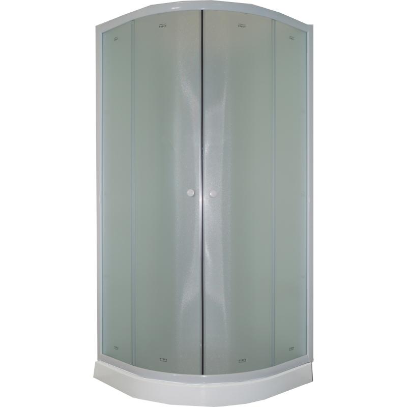 Душевая кабина Parly Tomorrow TM911 85х190 5502 профиль Белый стекло жемчужное