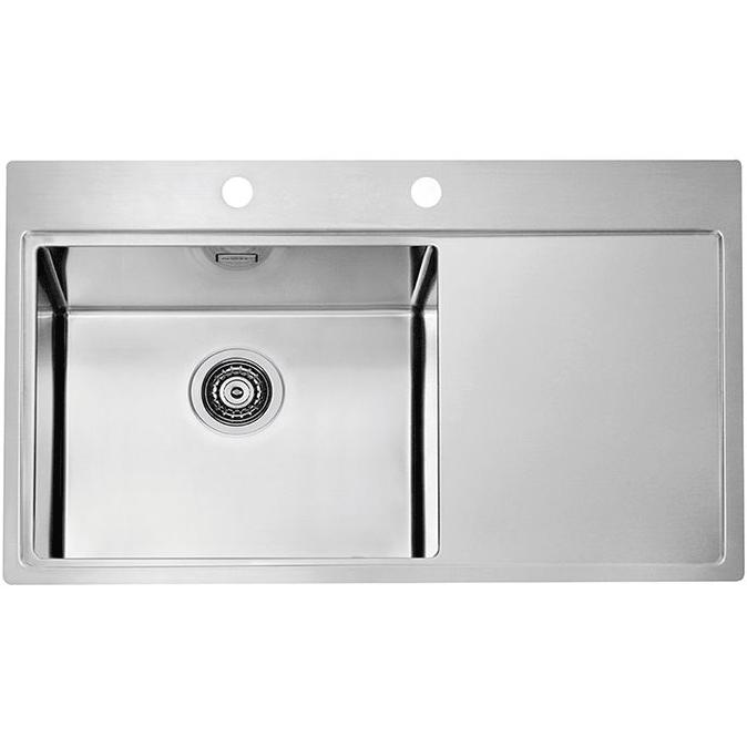 Кухонная мойка Alveus Pure 86 1103652 Нержавеющая сталь тонометр b well med 55 m l адаптер