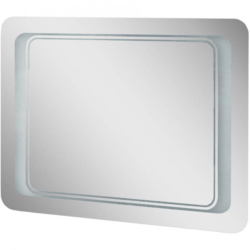 Фото - Зеркало Cerutti SPA Сицилия 80 zdu с подсветкой Хром душевая дверь cerutti spa bella d81t 80х195 хром