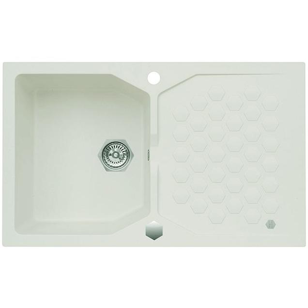 Кухонная мойка Alveus Sensual 85 1128392 Белая кухонная мойка dr gans габи 25 050 e1015 белая
