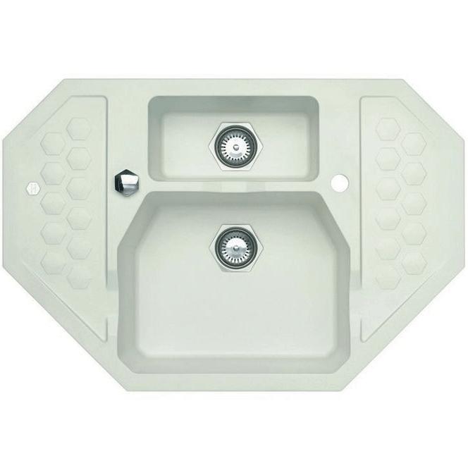 Кухонная мойка Alveus Sensual 90 1125703 Белая кухонная мойка dr gans габи 25 050 e1015 белая