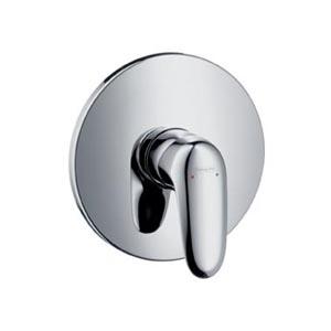 Metris E 31675000 ХромСмесители<br>Однорычажный. Наружная часть. В комплекте поставки: рукоятка, гильза, розетка, функциональный блок, керамический узел смешивания, крепление рукоятки Boltic, ограничитель температуры воды.<br>