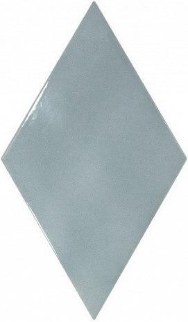 лучшая цена Керамическая плитка Equipe Rhombus Wall Ash Blue настенная 15,2х26,3 см