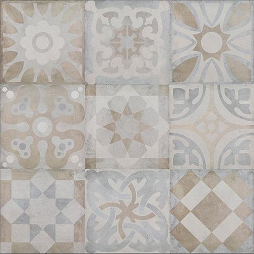Керамический декор Colorker District Town Mix Decor 45x45см