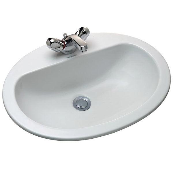 Visa 56 E1291-00 БелаяРаковины<br>Раковина Jacob Delafon Visa 56 E1291-00 с переливным отверстием в передней части.<br>Изящная модель в универсальном стиле дополнит большинство современных ванных комнат.<br>Изготовлена из санфарфора - гладкого и прочного материала. Качественная глазурь не впитывает грязь, устойчива к бытовым повреждениям, долго сохраняет первоначальную белизну и блеск.<br>Смягченные углы облегчает уход за раковиной.<br>Одно готовое отверстие под смеситель.<br>Цвет: белый.<br>Монтаж: на мебель, встраиваемая сверху.<br>В комплекте поставки: раковина.<br>