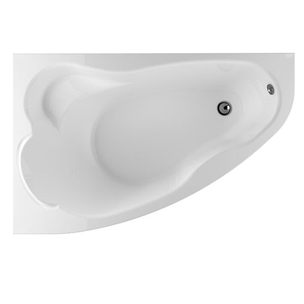 Акриловая ванна Marka One Lil 140x90 L без гидромассажа акриловая ванна 150х75 см marka one convey l 01кон1575л