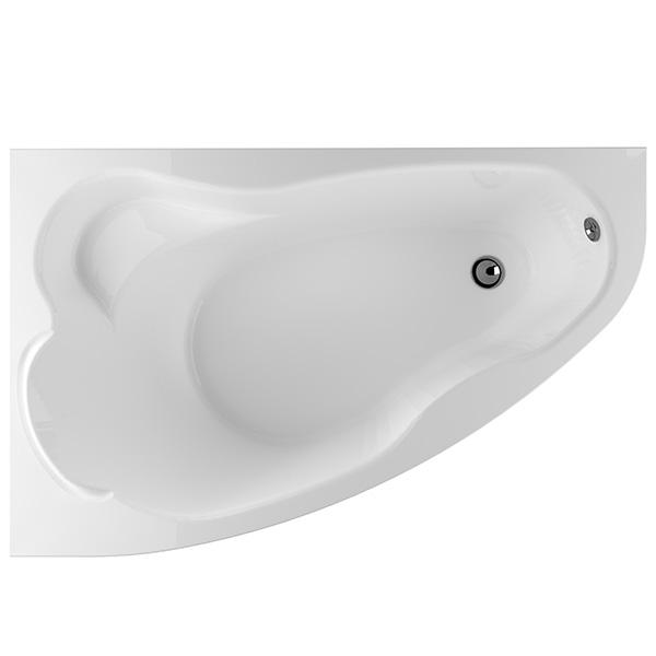Акриловая ванна Marka One Lil 140x90 R без гидромассажа акриловая ванна riho lyra 140x90 r без гидромассажа