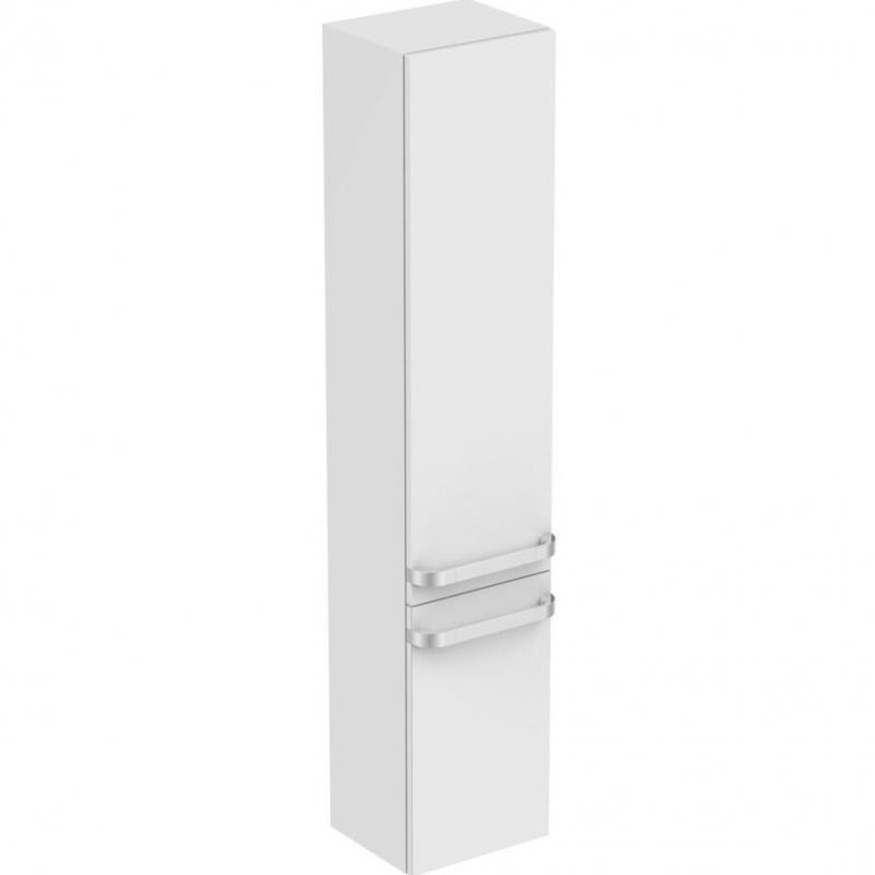 Шкаф пенал Ideal Standard Tonic II 35 R4319WG Белый глянцевый шкаф пенал bellezza рокко 35 подвесной красный белый