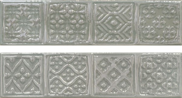 Керамический декор Cifre Opal Comp. Rodia Grey 15x30см
