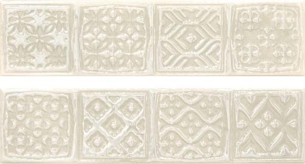 Керамический декор Cifre Opal Comp. Rodia Ivory 15x30см