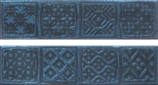 Керамический декор Cifre Opal Comp. Rodia Marine 15x30см
