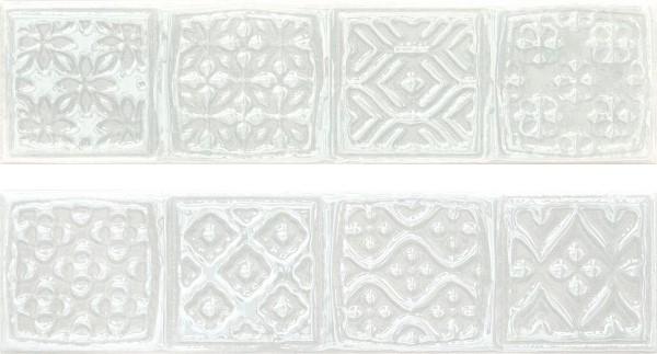 Керамический декор Cifre Opal Comp. Rodia White 15x30см