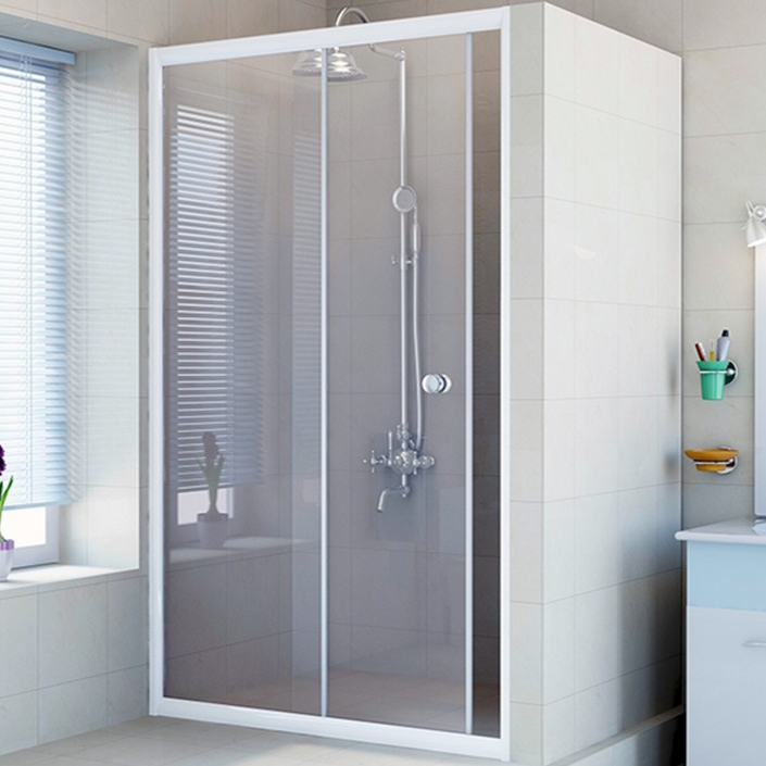 Душевая дверь в нишу Radomir 120 1-63-1-0-0-1080 профиль Белый стекло Прозрачное душевая дверь в нишу radomir 150 1 63 2 0 0 1110 профиль хром стекло прозрачное