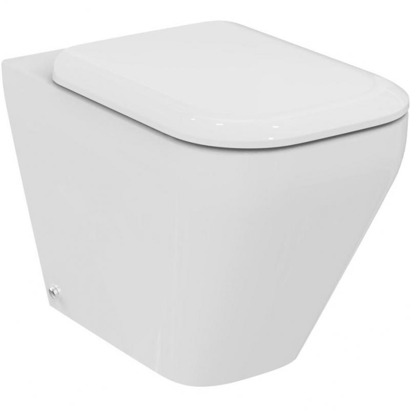 Унитаз Ideal Standard Tonic II K317301 приставной с сиденьем Микролифт унитаз подвесной с сиденьем микролифт ideal standard tonic ii aquablade k316701