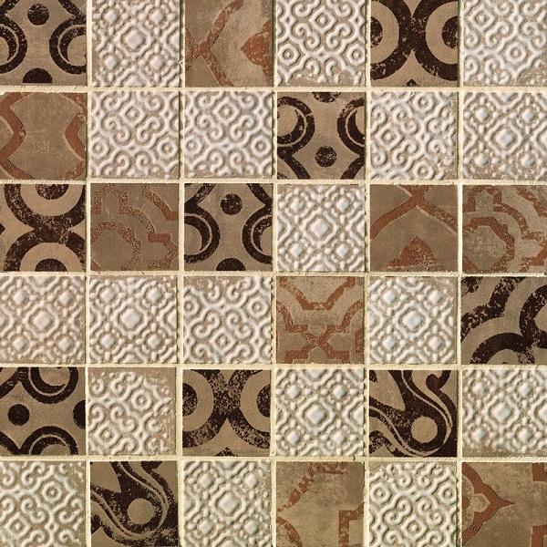 Мозаика Fap Ceramiche Creta Mosaico Maiolica Beige 30,5х30,5см цена