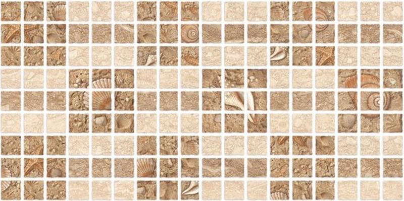 Керамическая мозаика Нефрит Керамика Аликанте Бежевая 25х50 см