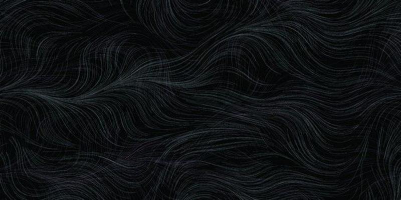 Керамическая плитка Нефрит Керамика Болеро черный настенная 25х50 см