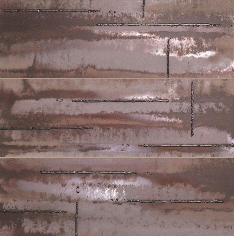 Панно Fap Ceramiche Evoque Acciaio Copper Inserto Mix 91,5х91,5см