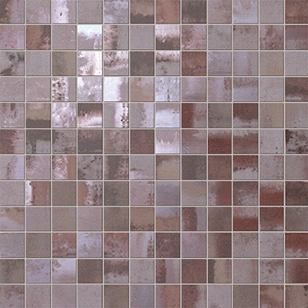 Мозаика Fap Ceramiche Evoque Acciaio Copper Mosaico 30,5х30,5см