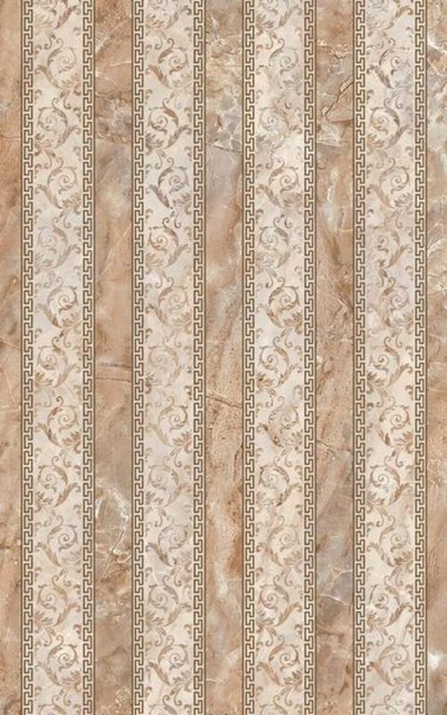 Керамический декор Нефрит Керамика Гермес в полоску 25х40 см