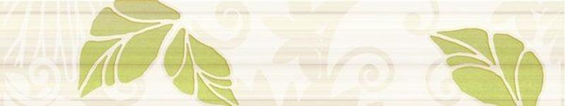 керамическая плитка нефрит керамика кензо зеленый 7 5х40 бордюр Керамический бордюр Нефрит Керамика Кензо фисташковый 7,5х40 см