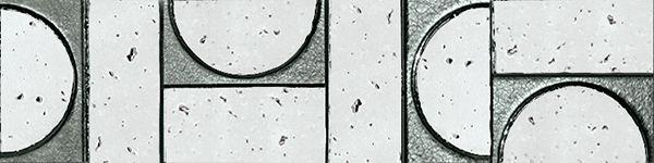 Бордюр Fap Ceramiche Evoque Sigillo Argento Inserto Listello Mosaico 7,5х30,5см цена