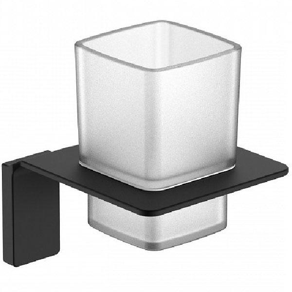Стакан для зубных щеток Iddis Slide SLIBSG1i45 Черный стакан для ванной комнаты king tower