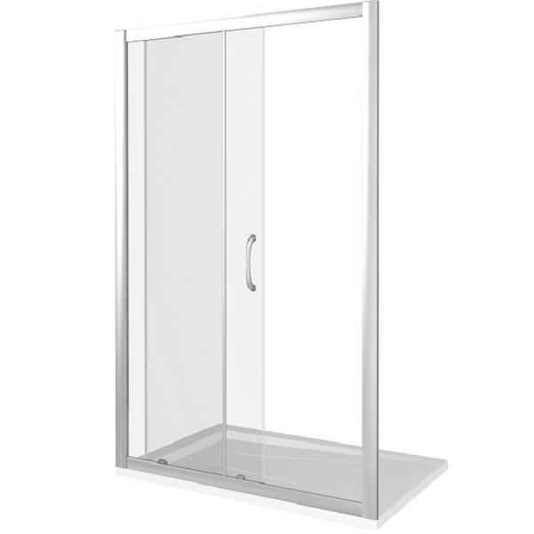 Душевая дверь в нишу Good Door Neo WTW-120-C-CH 120х185 профиль Хром стекло прозрачное душевая дверь в нишу good door galaxy wtw 120 c ch 120 профиль хром стекло прозрачное
