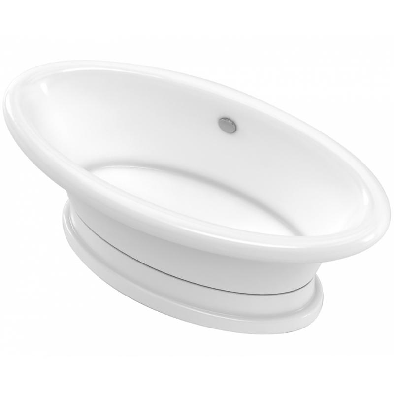 Ванна из литьевого мрамора Marmo Bagno Аззуро 180x90 MB-A180-90 без гидромассажа цена 2017