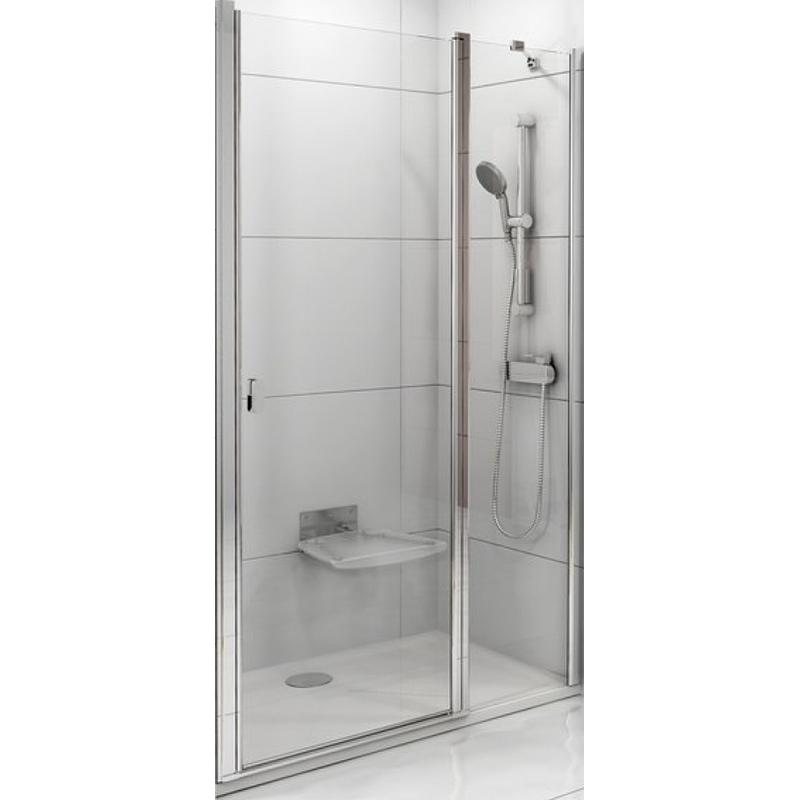 Душевая дверь в нишу Ravak CSD2-120 120x195 0QVGCC00Z1 профиль Хром стекло прозрачное душевая дверь в нишу migliore diadema 80x195 l профиль бронза стекло прозрачное