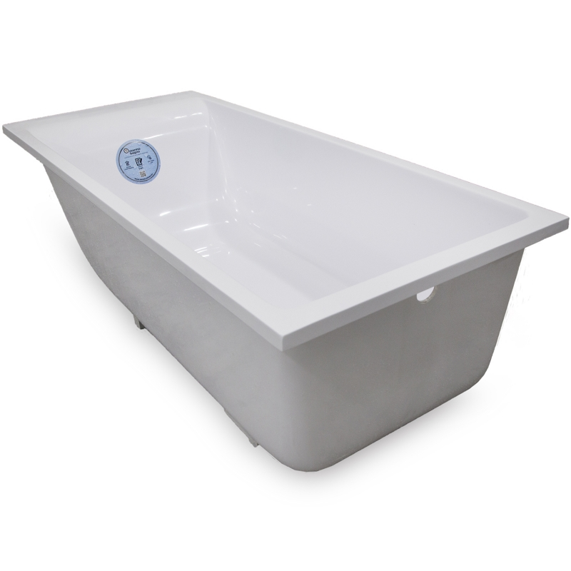 Ванна из литьевого мрамора Marmo Bagno Алесса New 150x70 MB-ALN150-70 с ножками без гидромассажа цена 2017