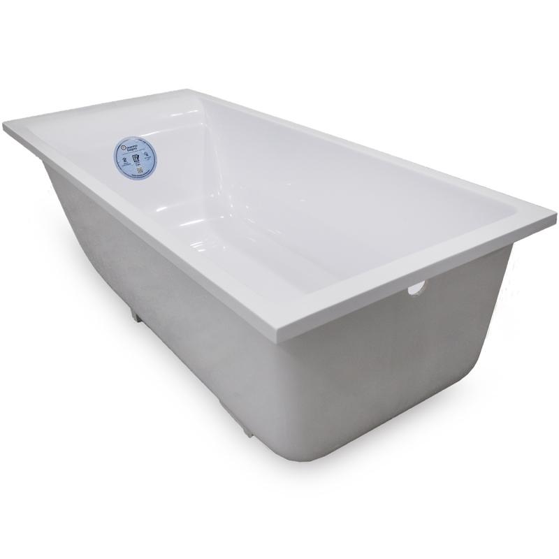 Ванна из литьевого мрамора Marmo Bagno Алесса New 170x75 MB-ALN170-75 с ножками без гидромассажа цена 2017
