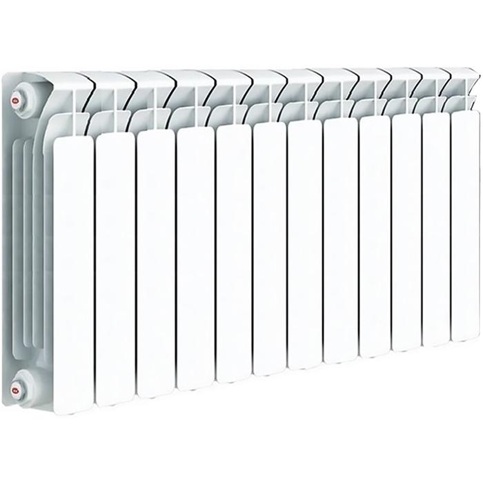 Биметаллический радиатор Rifar Base Ventil 500 L R50012НПЛ 12 секций с нижним подключением
