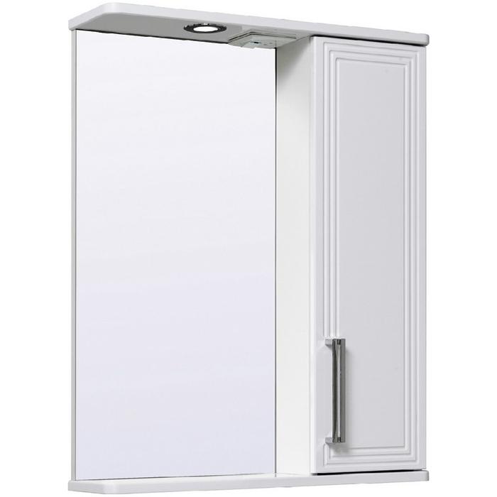 Зеркало со шкафом Runo Олимпия 60 R УТ000004220 Белое