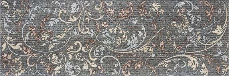Керамическая плитка Rocersa Habitat-2 Dec-1 Grafito настенная 20х60 см керамическая плитка rocersa pandora 6 marfil 20х60 настенная