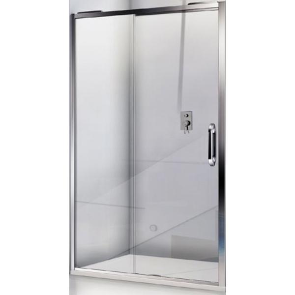 Душевая дверь в нишу Good Door Antares WTW-100-C-CH 100 профиль Хром стекло прозрачное душевая дверь в нишу good door galaxy wtw 120 c ch 120 профиль хром стекло прозрачное