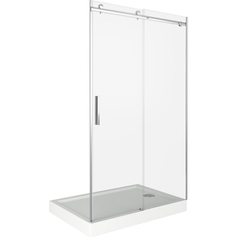 Душевая дверь в нишу Good Door Galaxy WTW-160-C-CH 160 профиль Хром стекло прозрачное душевая дверь в нишу good door galaxy wtw 120 c ch 120 профиль хром стекло прозрачное