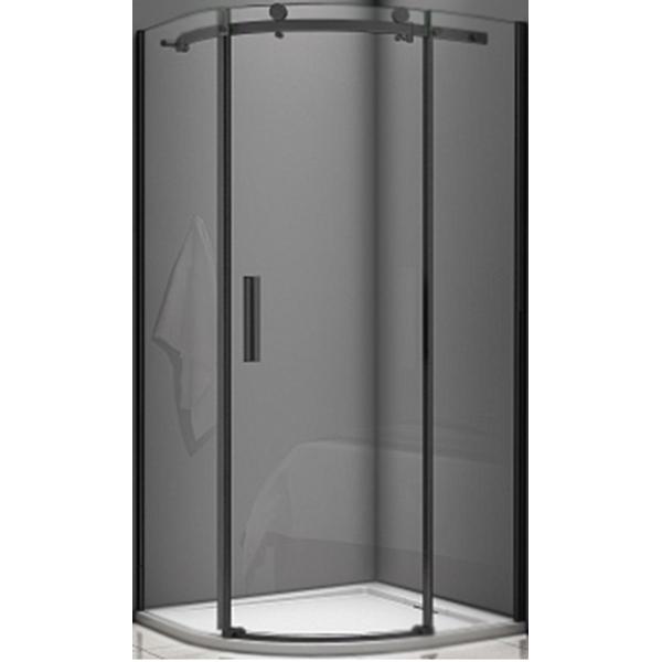 Душевой уголок Good Door Galaxy R-90-C-B 90x90 профиль Черный стекло прозрачное комплектующие