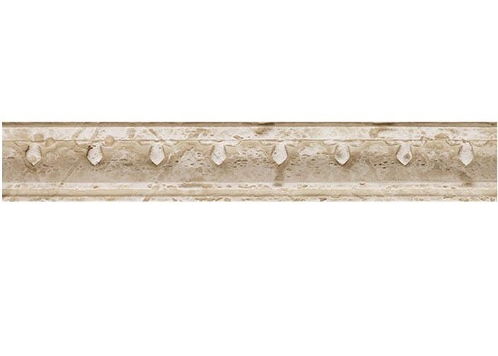 цена на Керамический бордюр Saloni Tivoli Cornisa Blason Crema 5х31 см