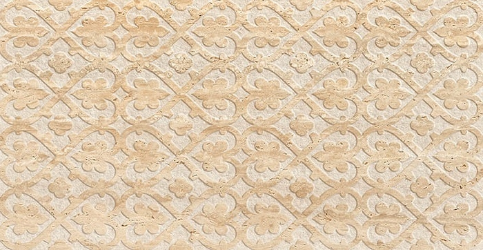 цена на Керамическая плитка Saloni Tivoli Crest Mate Crema Rev. настенная 31х60 см