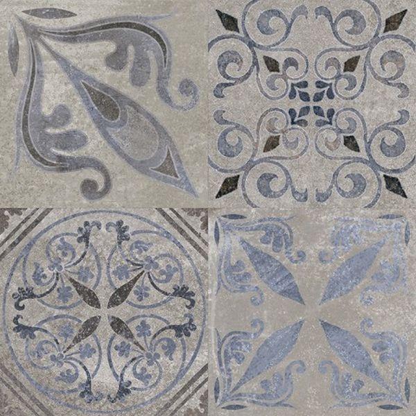 Керамическая плитка Porcelanosa Park Antique Silver напольная 59,6х59,6 см