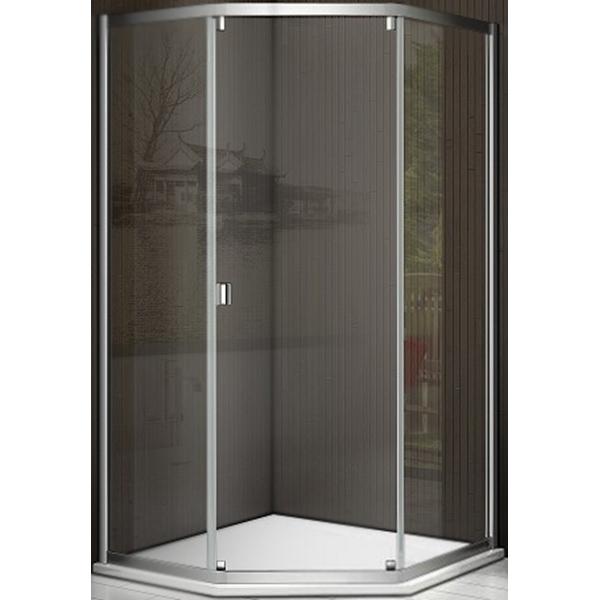 Душевой уголок Good Door Infinity SHW-100-C-CH 100x100 профиль Хром стекло прозрачное комплектующие