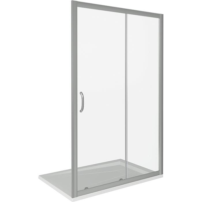 Душевая дверь в нишу Good Door Infinity WTW-160-C-CH 160 профиль Хром стекло прозрачное душевая дверь good door infinity 170 матовая грейп хром infinity wtw td 170 g ch