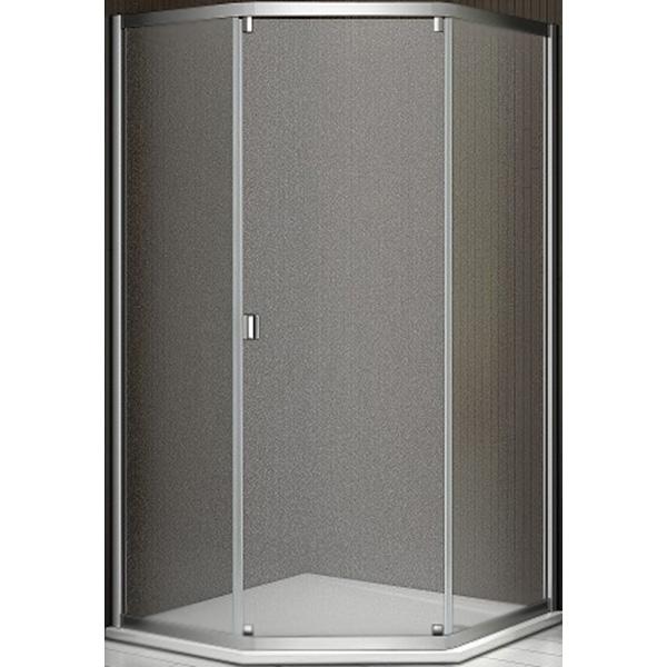 Душевой уголок Good Door Infinity SHW-100-G-CH 100x100 профиль Хром стекло матовое комплектующие