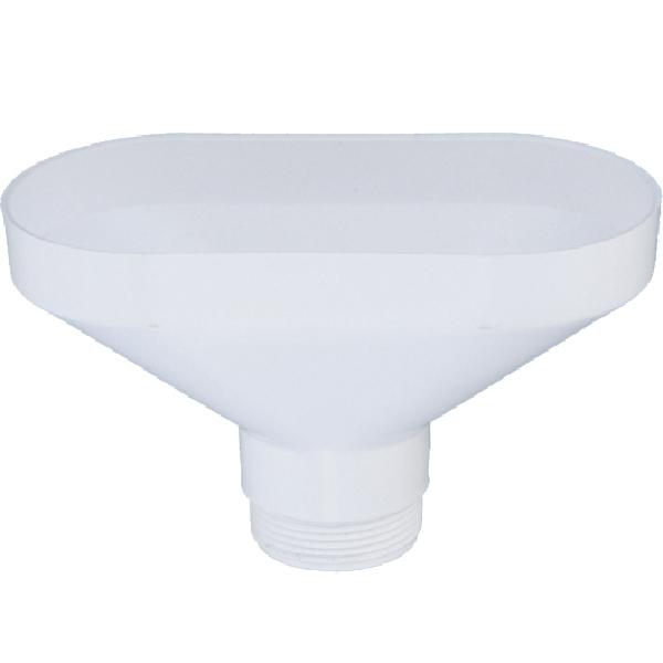 Воронка слива для кухонной мойки McAlpine FUNNEL-B Белый