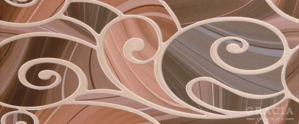 Керамический декор Gracia Ceramica Arabeski Venge Decor 01 25x60см недорого